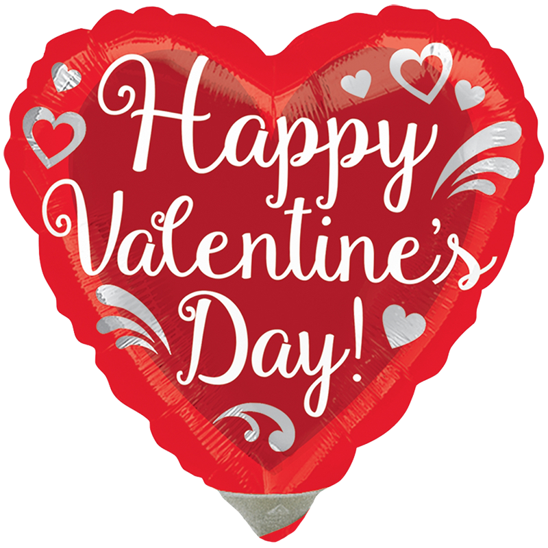 Globo Happy Valentine's Day!