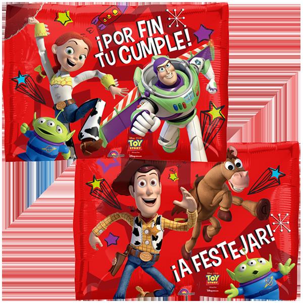 Globo Toy Story Por Fin Tu Cumple