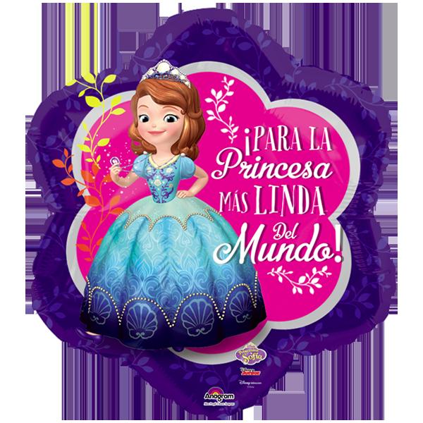 Globo Para La Princesa Mas Linda Del Mundo