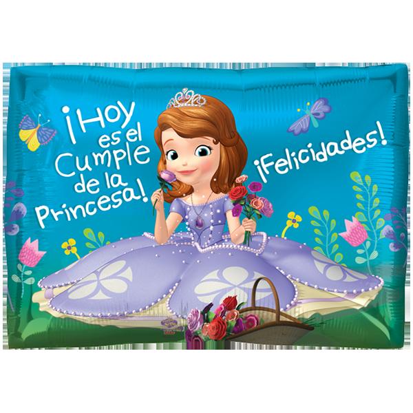 Globo Sofia !hoy Es El Cumple De La Princesa! Felicidades