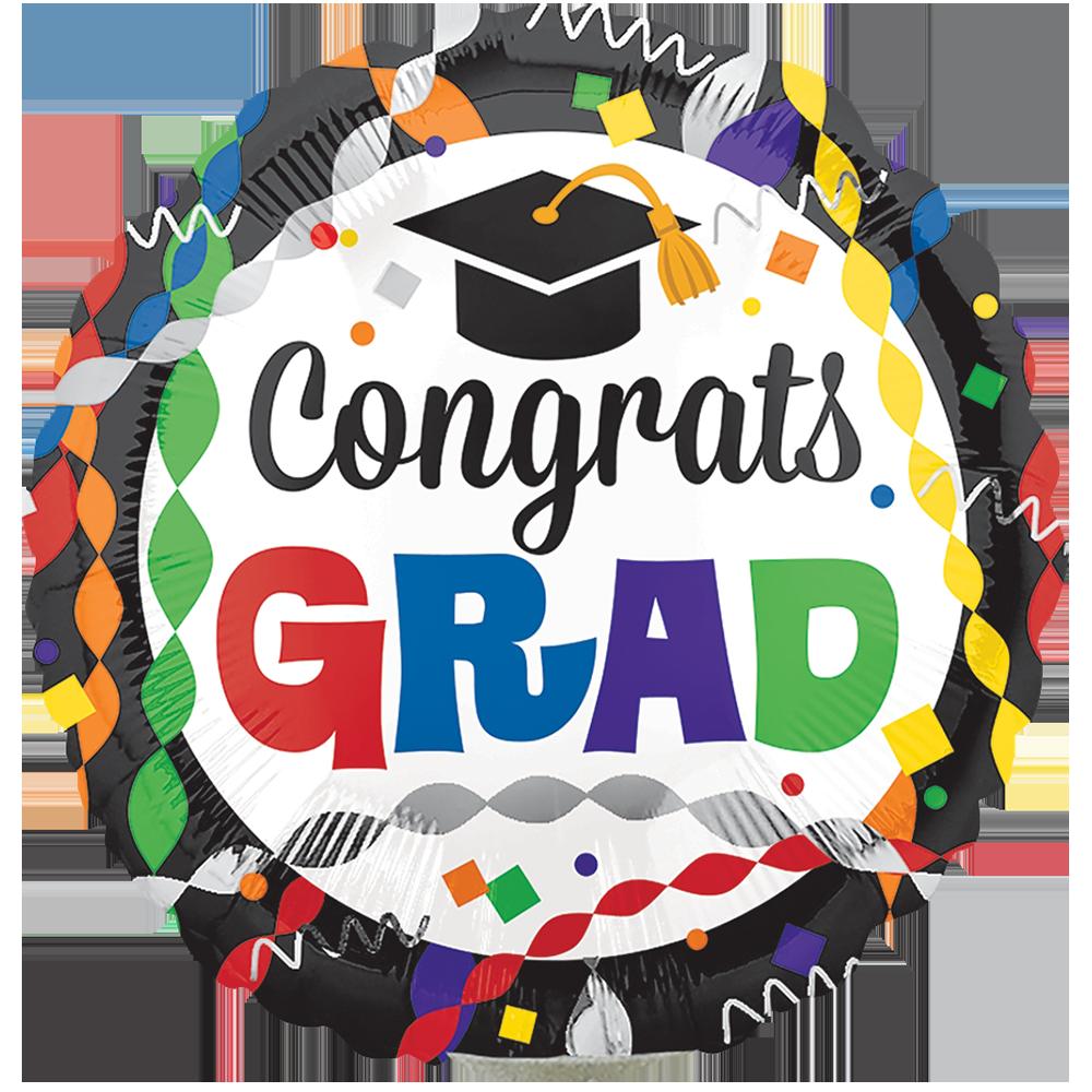 Globo Congrats Grad