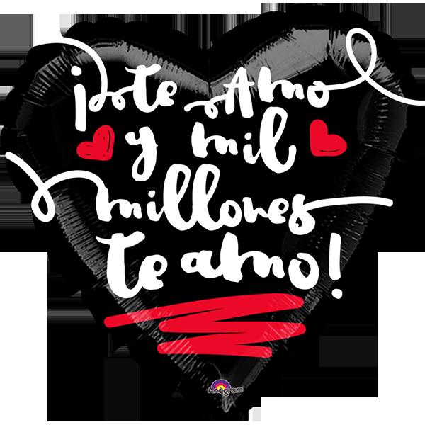 Globo Te Amo Y Mil Millones Te Amo