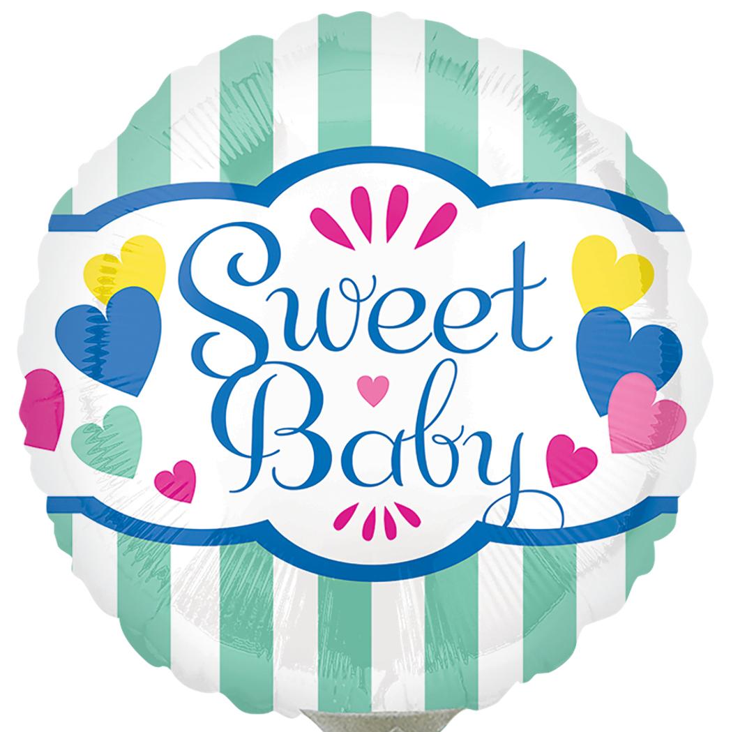 Globo Sweet Baby Stripes & Hearts