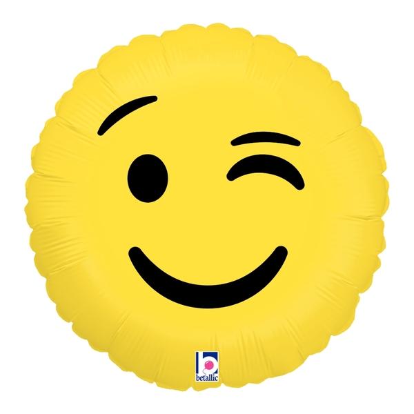 Globo Emoji Wink