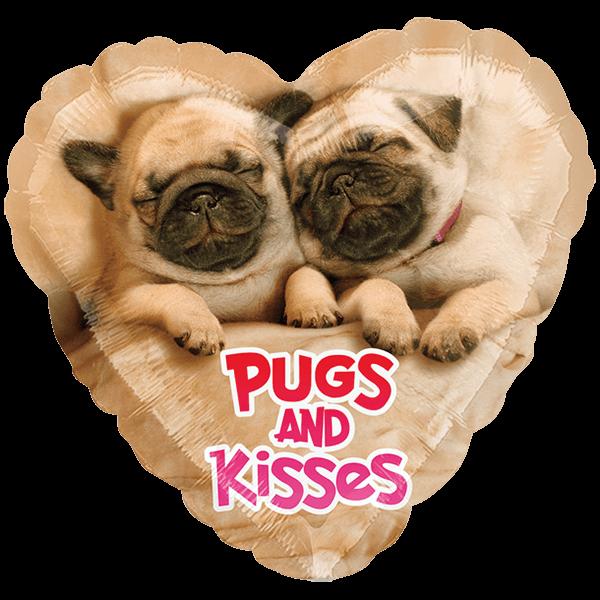 Globo Avanti Pugs & Kisses