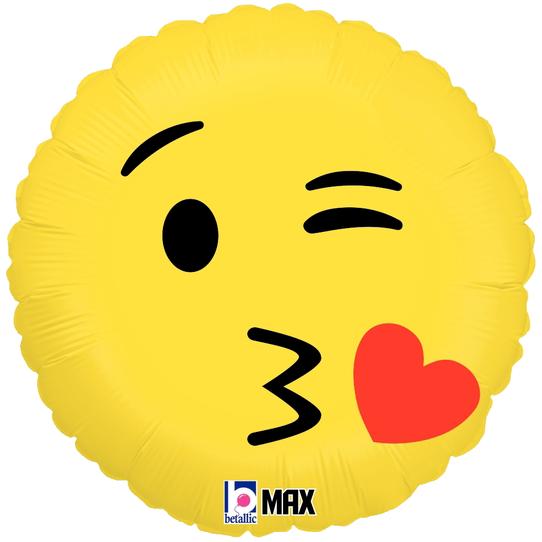 Globo Emoji Kiss