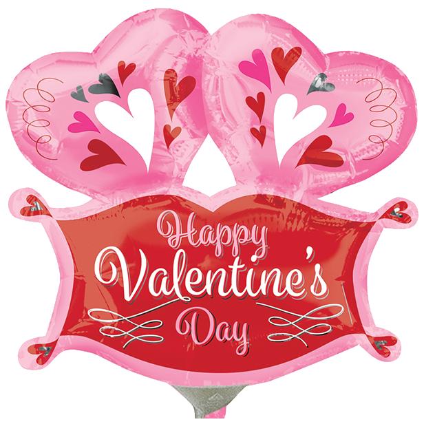 Globo Happy Valentines Day!