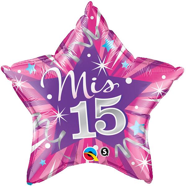 Globo Mis 15 Hot Pink
