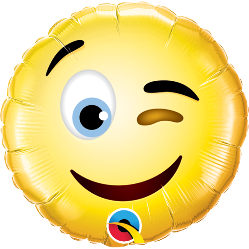 Globo Smiley Wink