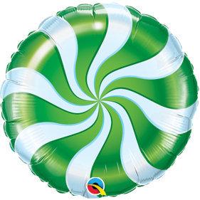 Globo Candy Swirl Green