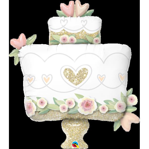 Globo Torta De Boda