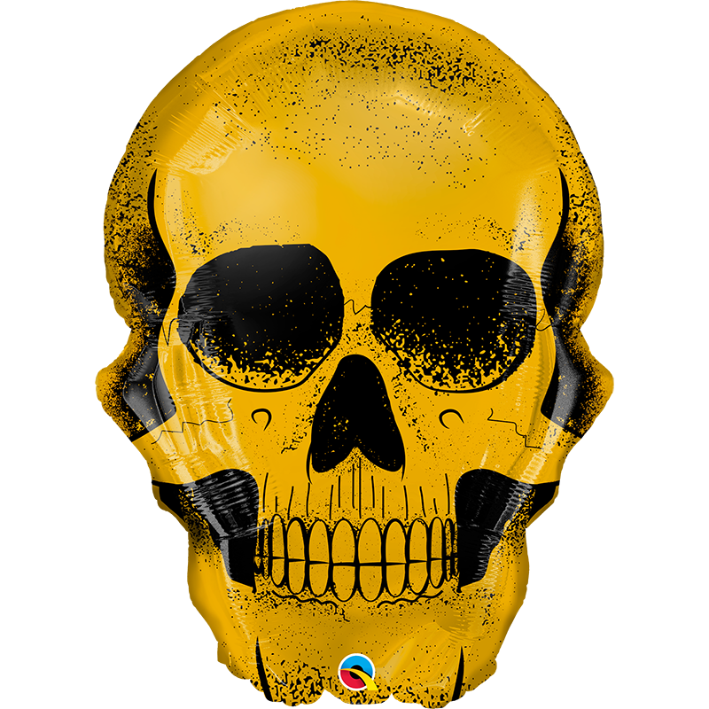 Globo Golden Skull