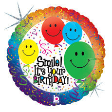 Globo Smile It Is Your Birthday