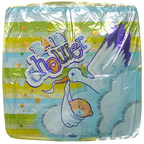Globo Baby Shower Niño Cigüeña