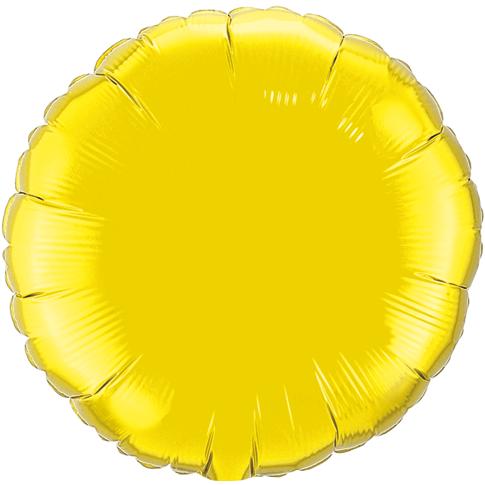 Globo Redondo Citrine Yellow