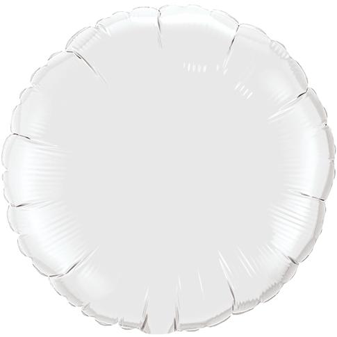 Globo Redondo Blanco