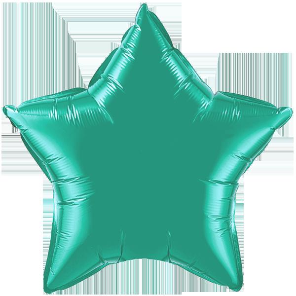 Globo Estrella Verde Esmeralda