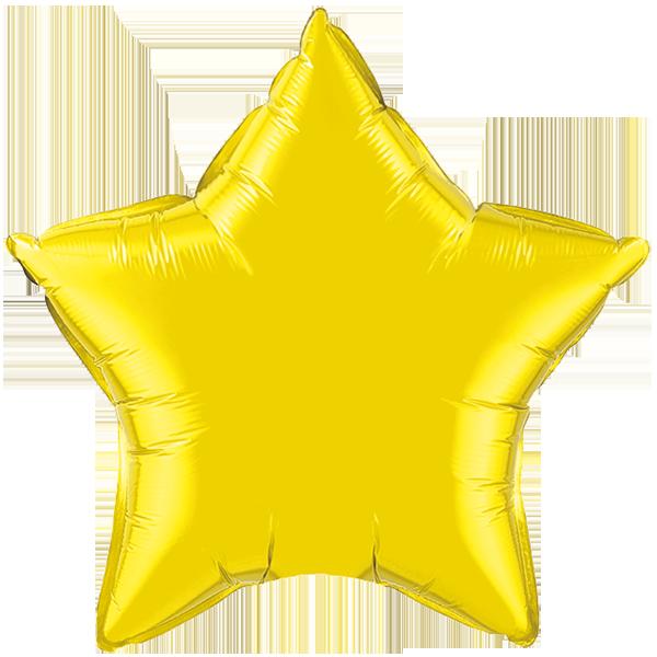 Globo Estrella Citrine Yellow