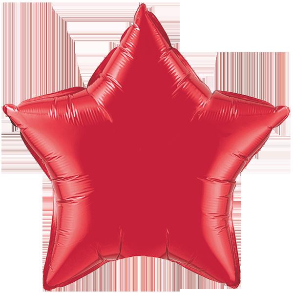 Globo Estrella Rojo