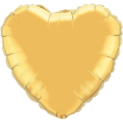 Globo Corazon Dorado