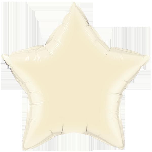 Globo Estrella Ivory Perlado