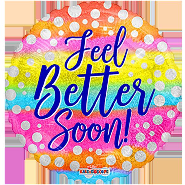 Globo Feel Better Soon Dots