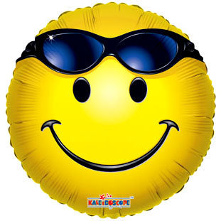 Globo Smiley With Glasses