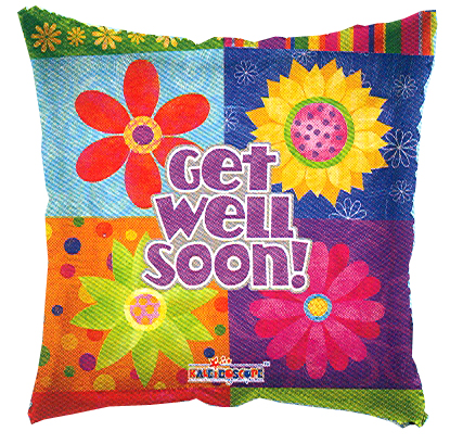 Globo Floral Get Well