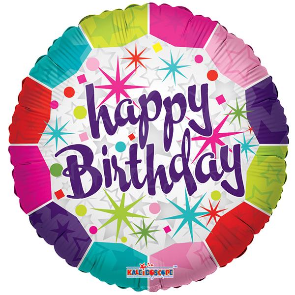 Globo Happy Birthday  Fresh
