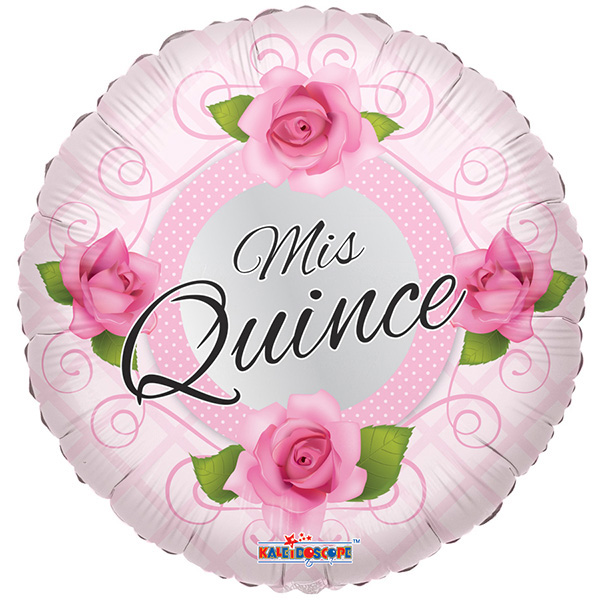 Globo Mis Quince Roses