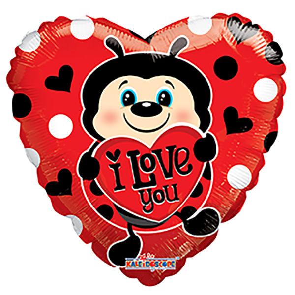 Globo Lady Bug With Heart