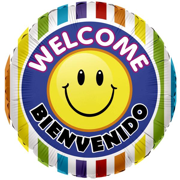 Globo Welcome Bienvenido