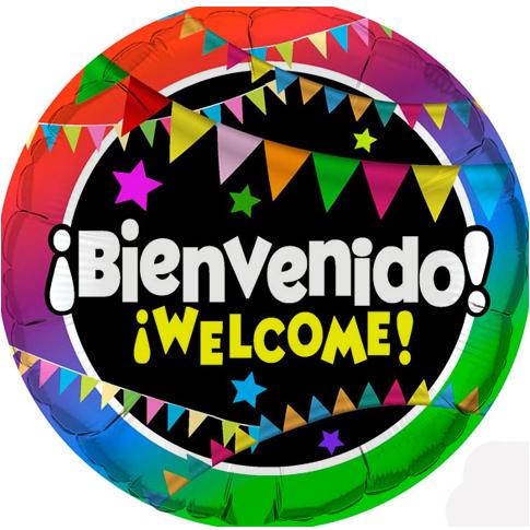 Globo Bienvenido Welcome