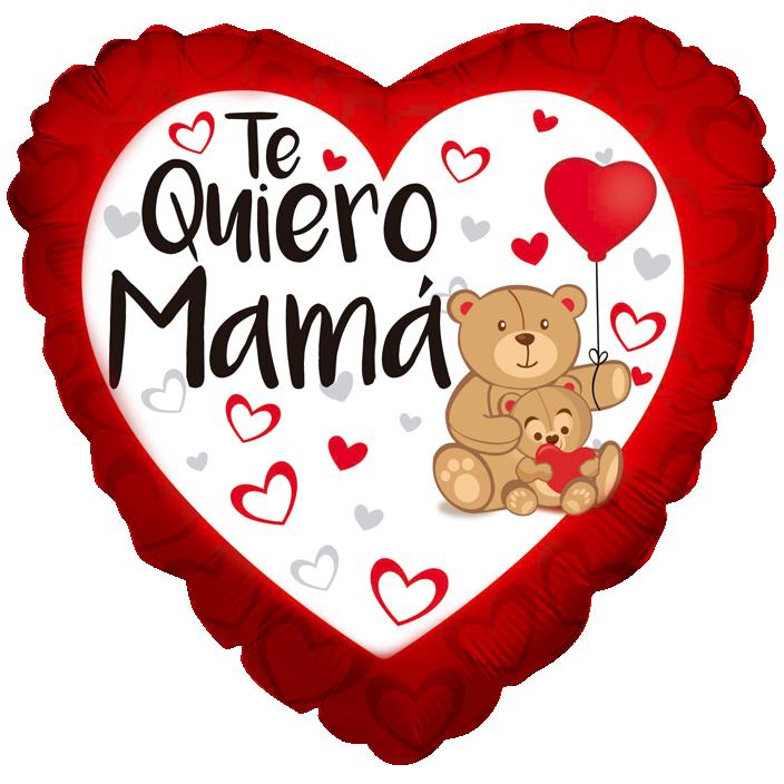 Globo Te Quiero Mamá Oso