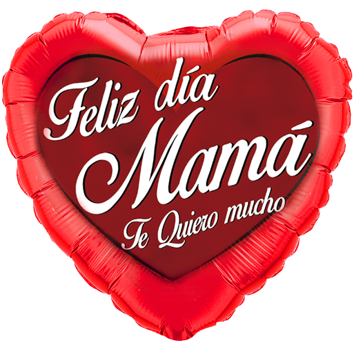 Globo Feliz Día Mamá Te Quiero Mucho