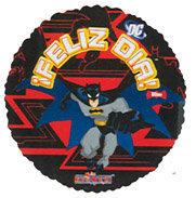Globo Batman En Accion Feliz Dia