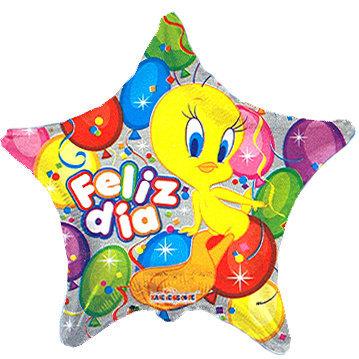 Globo Piolin Feliz Dia Con Globos