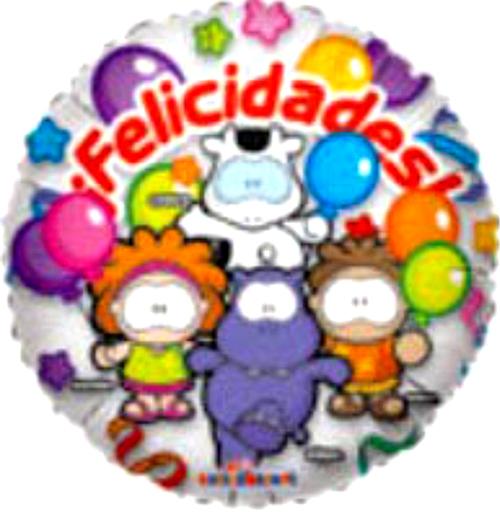 Globo Cowco Y Amigos Felicidades