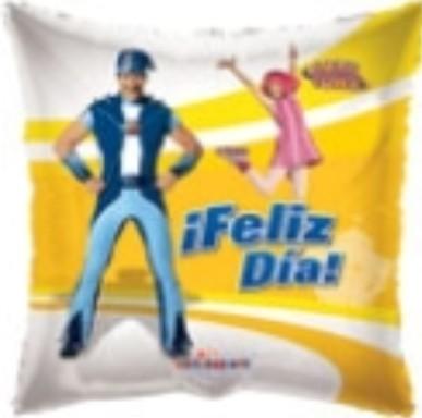 Globo Lazy Town Personajes Feliz Dia
