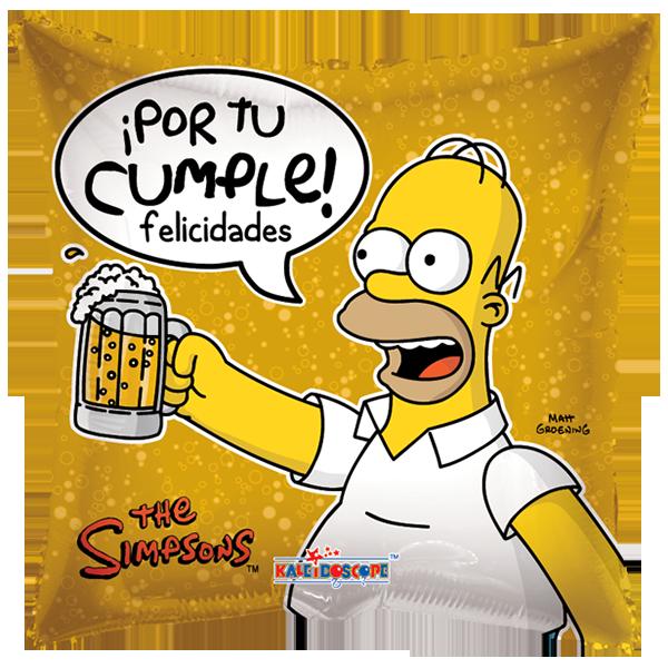 Globilandia - Catalogo de Globos Amor Los Simpson
