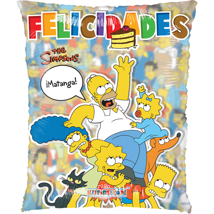 Globo Felicidades Simpsons