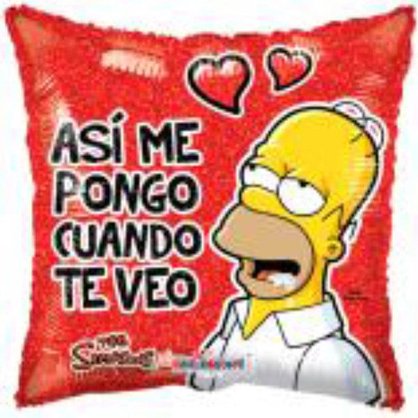 Globo Simpson Asi Me Pongo Cuando Te Veo