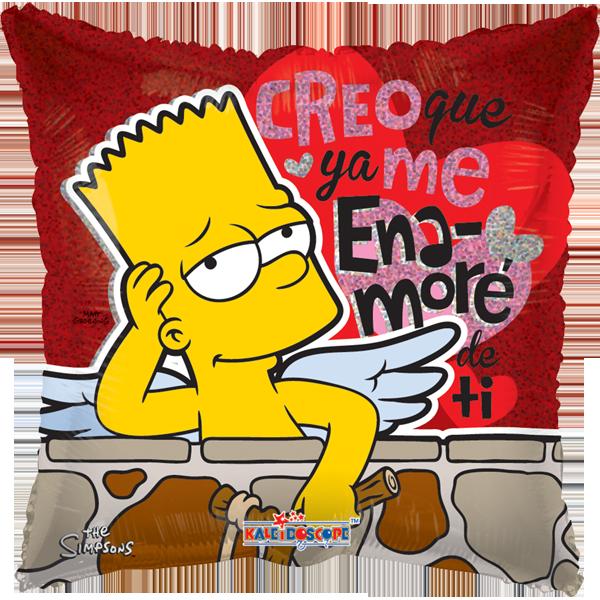 Globo Bart Simpson Creo Q Ya Me