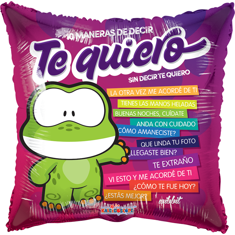 Globo Wibbit 10 Maneras De Decir Te Quiero