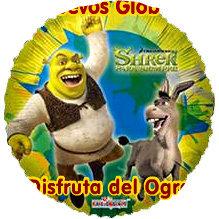 Globo Shrek Para Siempre Feliz Dia