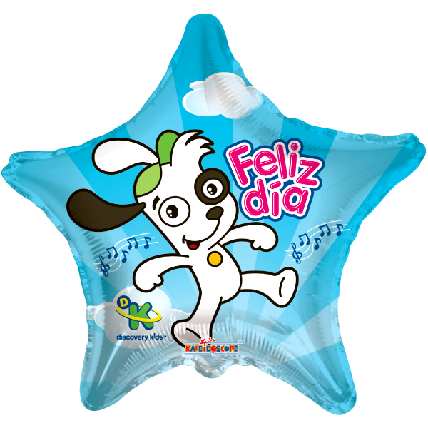 Globo Doki Feliz Dia Esrella
