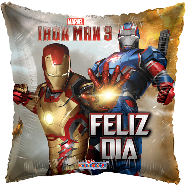 Globo Iron Man 3 Con Patriot