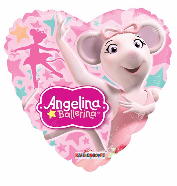 Globo Angelina Ballerina Rosa No. 18