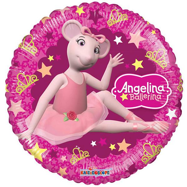 Globo Angelina Ballerina Estrella No.9.