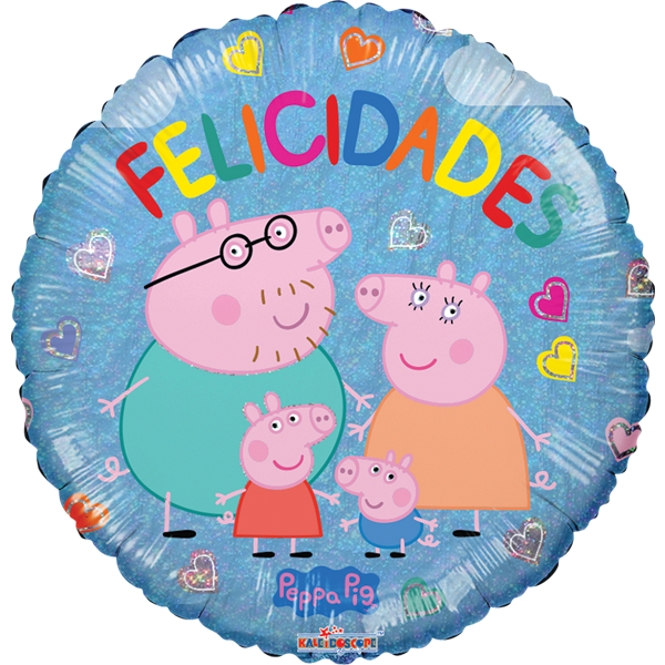 Globo Pepa Felicidades